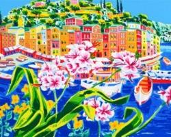 Faccincani Athos - Un momento di poesia a Portofino