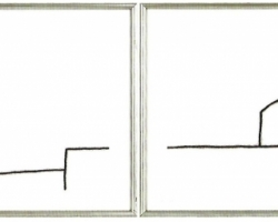 Stefanoni Tino - Disegno 202 - 203 (dittico indivisibile)