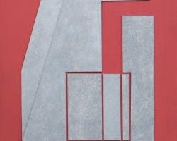 Nativi Gualtiero - Rilievo fondo rosso