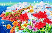 Faccincani Athos - Santorini e un'incantevole racconto di luce