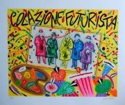 Donzelli Bruno - Colazione futurista