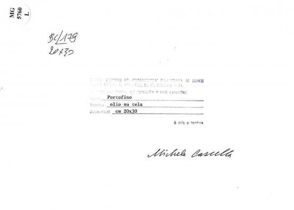 Cascella Michele - Portofino