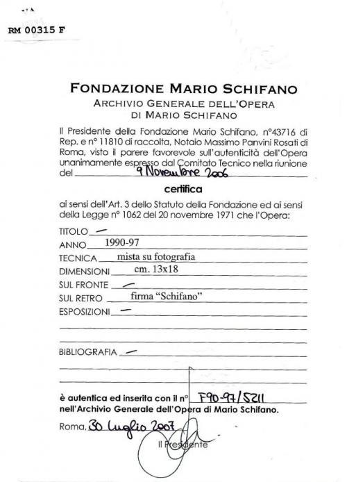 Schifano Mario