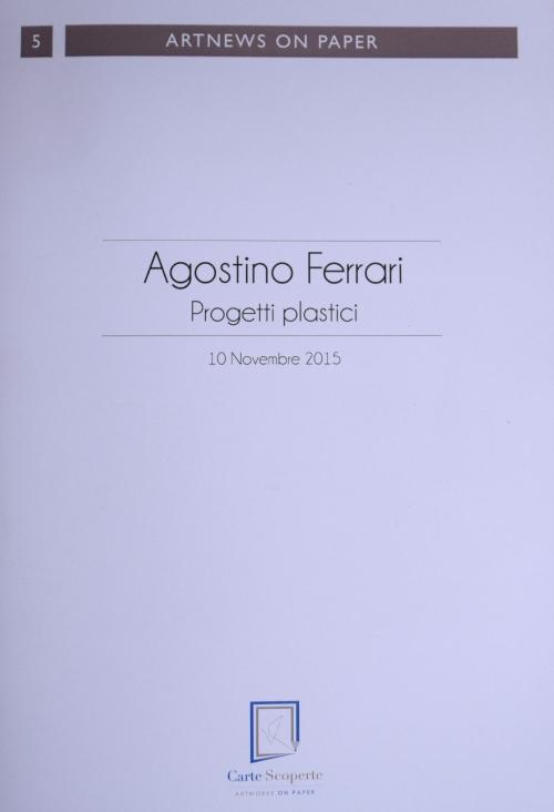 Ferrari Agostino - Progetti plastici
