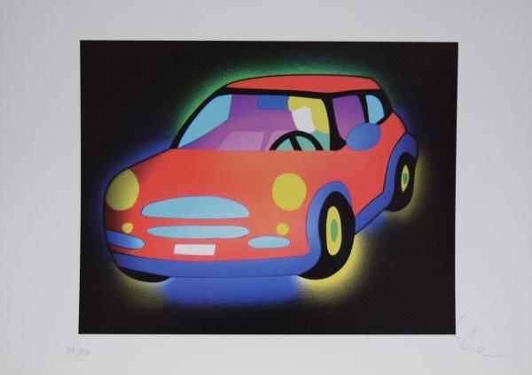 Lodola Marco - La macchina
