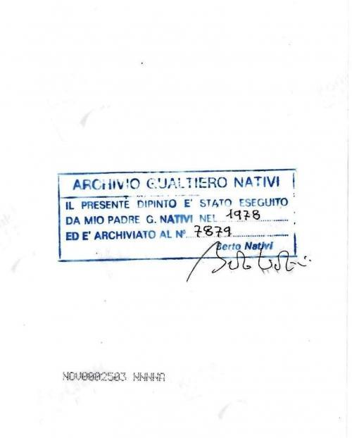 Nativi Gualtiero - Senza titolo