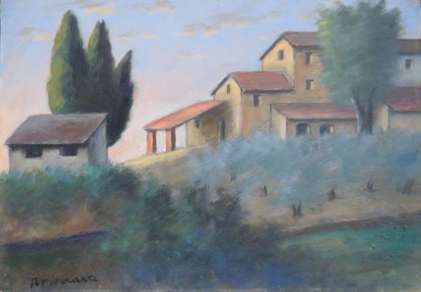 Tirinnanzi Nino - Paesaggio toscano